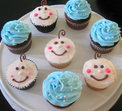 Baby Shower Cupcakes Ideas by Baby Shower Cupcakes Baby Boy Shower Cupcake Ideas