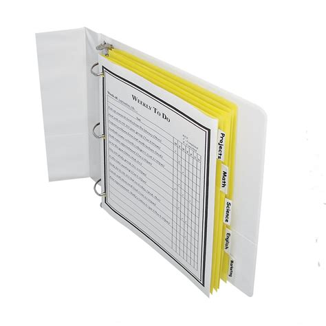 Pen Paper Inter X Folder Index Divider 5 Tabs A4 c line paper index dividers