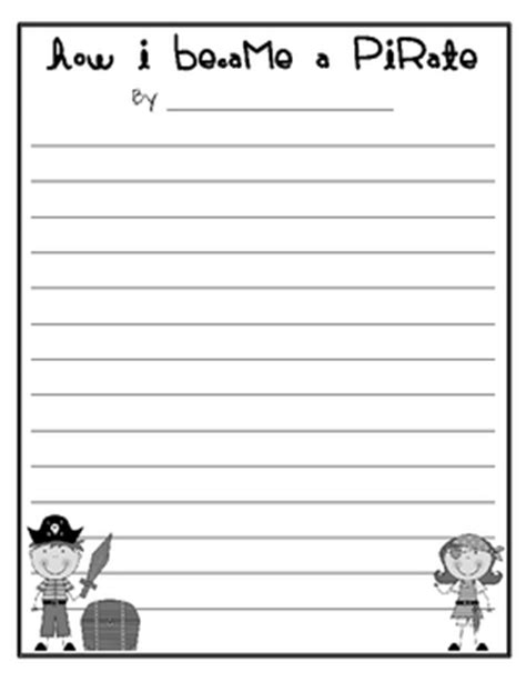 pirate themed writing paper pirate writing pages freebie by jeremie tharp teachers