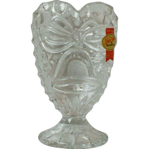 Hutte Bleikristall by Hutte Bleikristall Lead Shaped Pedestal