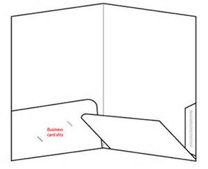 two pocket folder template how to plan a 9 x 12 two rounded pocket folder
