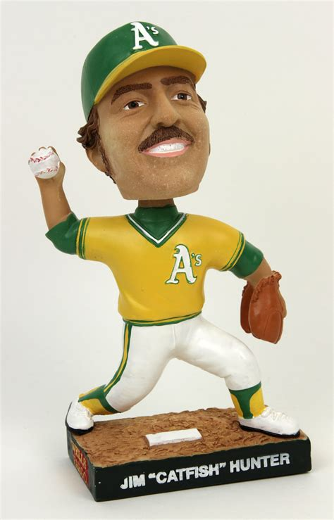 a s bobblehead lot detail 2002 jim catfish oakland a s