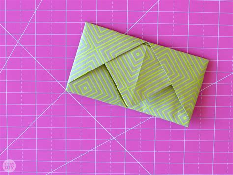 Ways To Fold Paper Notes - how to fold a letter into a pull tab note i try diy