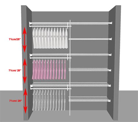 Armoire With Hanging Space by Closetmaid Planning Tips From Organise Home