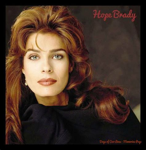 days of our lives hope wavy hair 363 best bo hope days of our lives images on pinterest