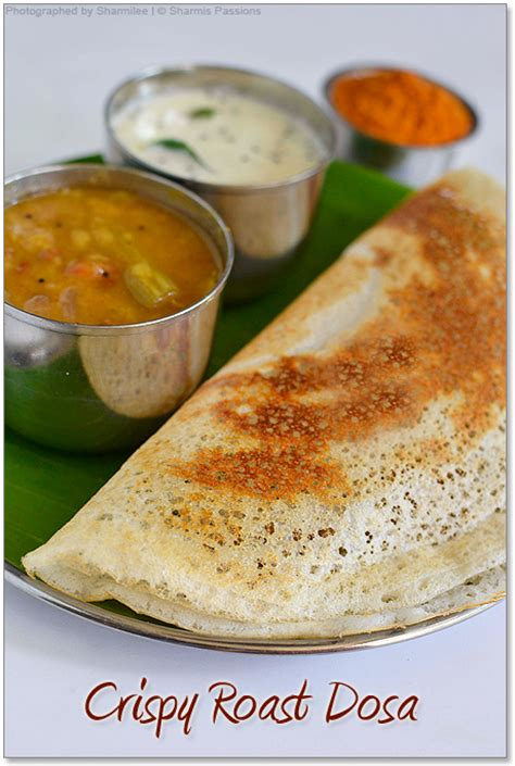 How To Make Paper Dosa - paper roast dosa recipe how to make roast dosa with