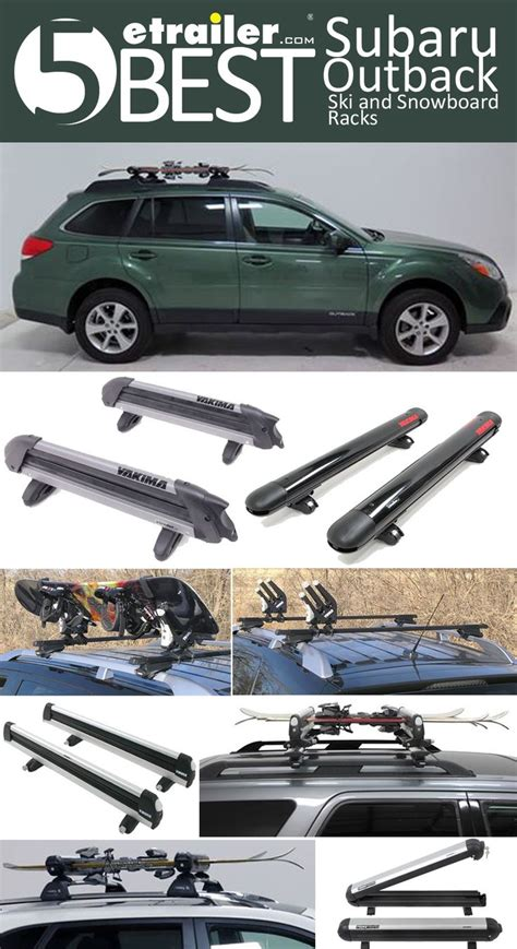 subaru baja canopy here are the 5 best subaru wagon ski and snowboard racks