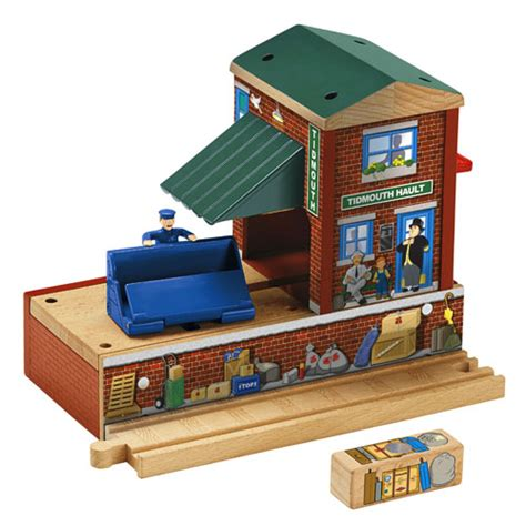 Ibuilder Deluxe Station Set friends wooden railway tidmouth station