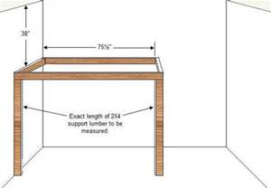 Diy Loft Bed Frame Loft Bed Plans How To Build A Budget Loft Bed