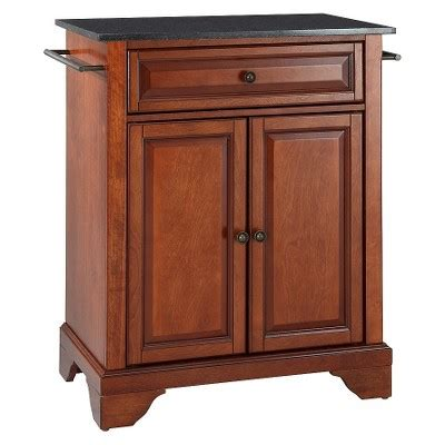 portable kitchen island target lafayette solid black granite top portable kitchen island