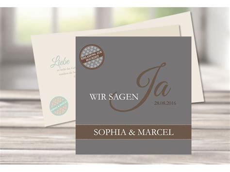 Einladungskarten Hochzeit Mint by Einladungskarte Hochzeit Moderne Pastellfarben Quot Mint Quot