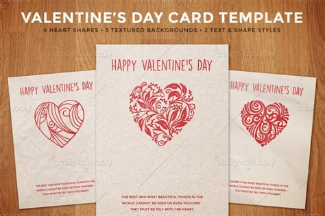 valentines templates for cards simple s day card template design panoply