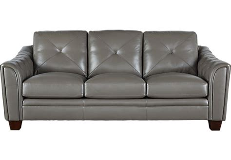 cindy crawford home leather sofa cindy crawford home marcella gray leather sofa leather