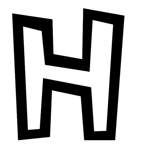 Letter H - Dr. Odd H