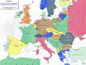 Europe Map 1919 by Russian Foreign Policy The State Of The Century