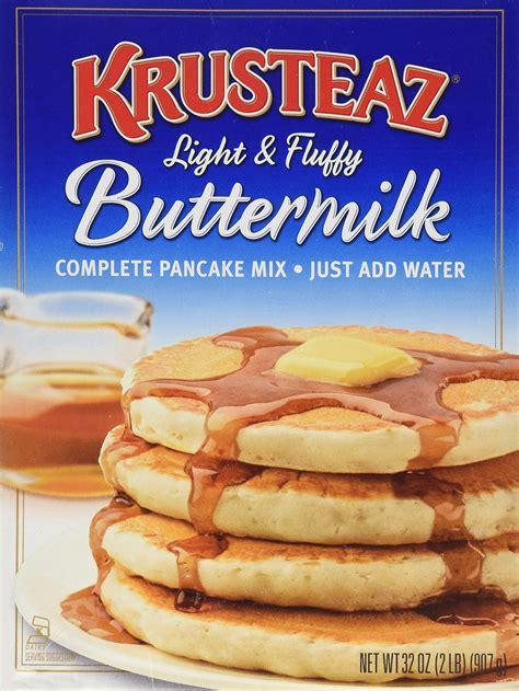 krusteaz buttermilk pancake mix 10 pound amazoncom amazon com hungry jack microwaveable bottle original