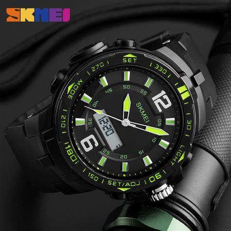 Jam Tangan Skmei Dg0989 Sport Outdoor skmei jam tangan analog digital pria 1273 black jakartanotebook