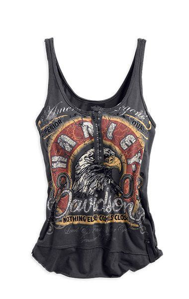 cool vintage look harley davidson tank tops for