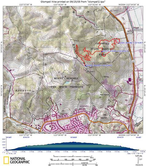 hiking trail maps for gps
