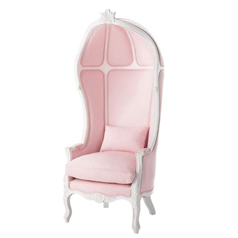 Childs Pink Armchair by Wood And Cotton Child S Armchair In Pink Carrosse Maisons Du Monde