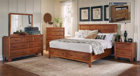 willow bedroom furniture coaster willow creek bedroom set oak 203371 bed set at