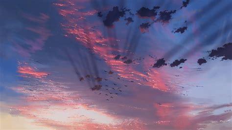 film anime buatan makoto shinkai upcoming makoto shinkai film is about clouds anime maru