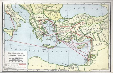 The Book Of Paul maps update 569404 map of pauls travels maps of pauls