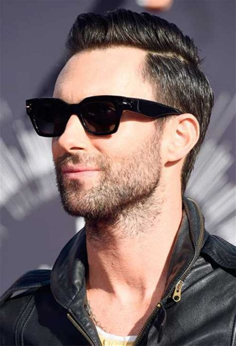 adam levine blasted in the face with sugar hollyscoop top 10 rocktastic adam levine haircuts hairstylec