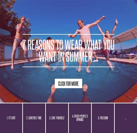 Fab Site Steals Deals On Ivillage by Freedom 7 Reasons To Wear What You Want In Summer
