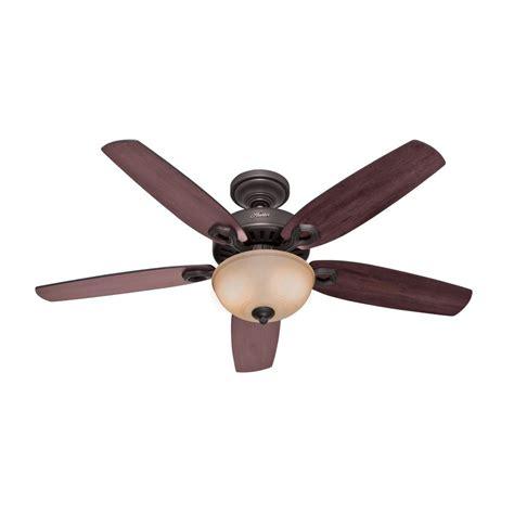 hunter fan light bulbs hunter fan company builder deluxe new bronze ceiling fan