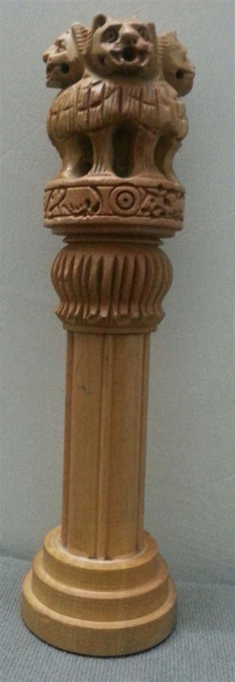 Home Decor Wholesale Market Ashoka Pillar Stambh National Emblem Symbol Lion Of