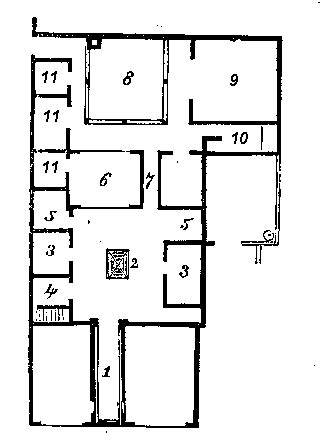 pompeii house plan plan of pompeii house home design and style