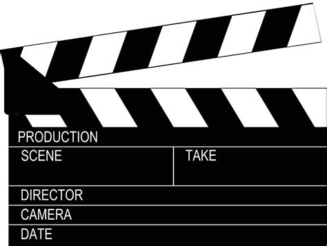 clapperboard business card template clapperboard page black page frames