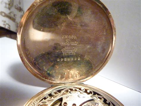 waltham pocket serial numbers antique pocket watches