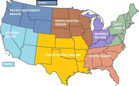 pacific northwest map usa settle the debate for is idaho a nw or rocky