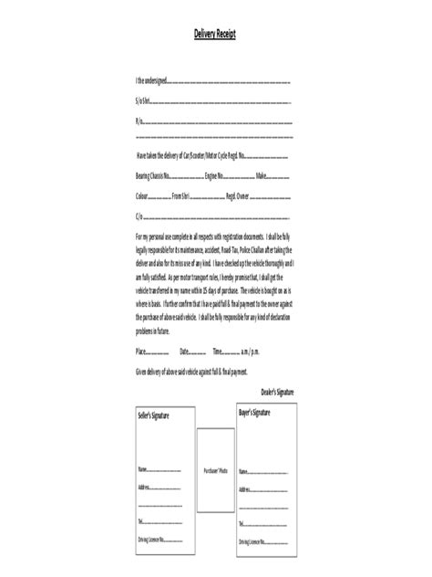 delivery receipt letter template delivery receipt template for word exle transmittal letter