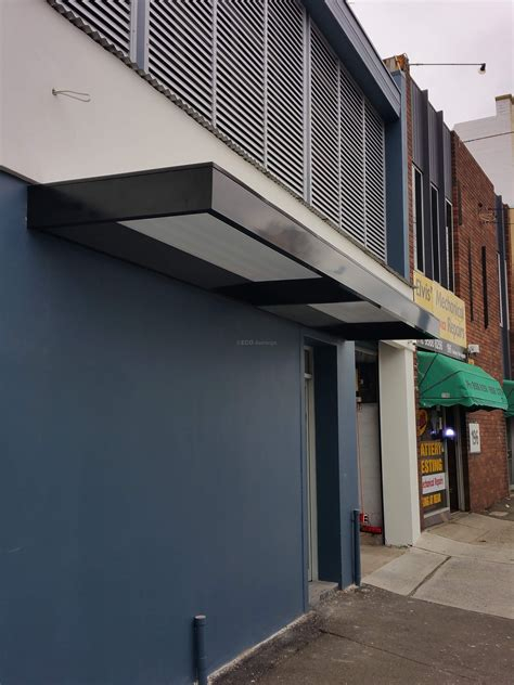 a frame awning slimline awnings black frame over a door eco awnings