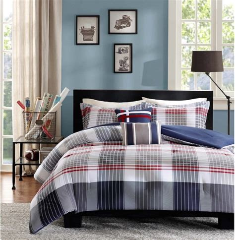 plaid bedspreads and comforters plaid bedding sets ease bedding with style