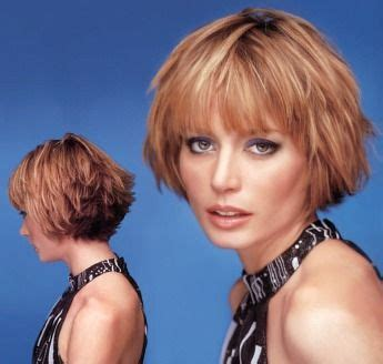 layered wedge with bangs short wedge hairstyles short wispy layered hair style