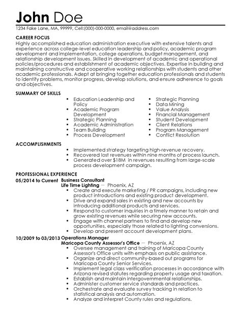 Professional Office Manager Resume Sle resume template doe 28 images 12 sle esthetician