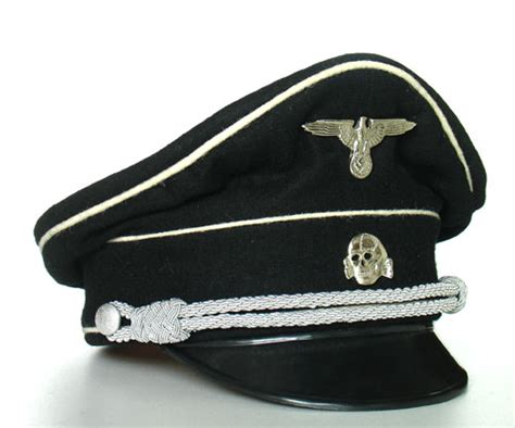 German Officer Hat by World War 2 German Officer Hat Insignia And Field Equipment