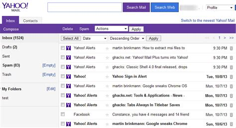 yahoo email email settings how to change back the style of text on the new yahoo mail
