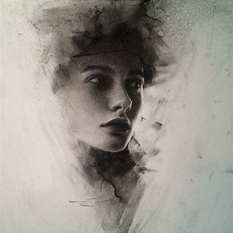 Drawing W Charcoal by Stunning Charcoal Drawings On Paper By Casey Baugh