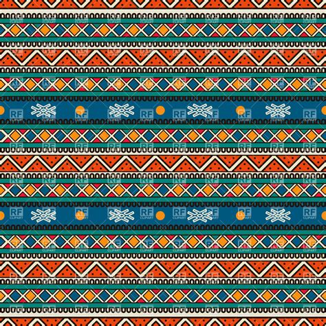 tribal indian pattern tribal striped seamless pattern royalty free vector clip