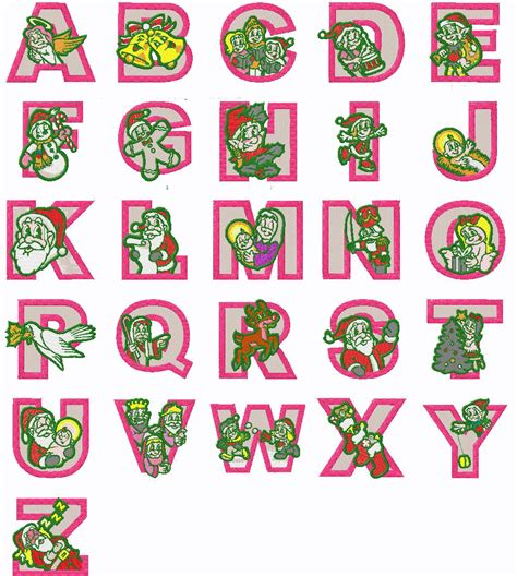 printable alphabet letters for christmas christmas alphabet letters search results calendar 2015