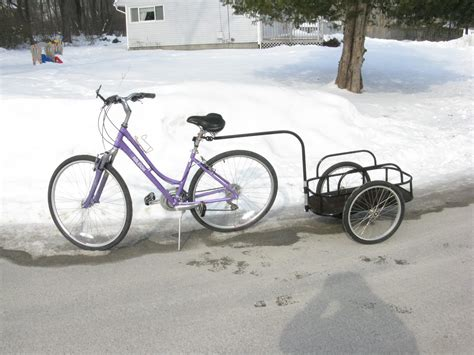 trailer for bike bicycle trailer huckins forge