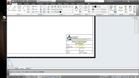 autocad tutorial how to insert a title block import title block and ctb file to autocad youtube