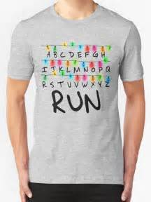 Baseball Home Decor quot stranger things run quot t shirts amp hoodies by coinho