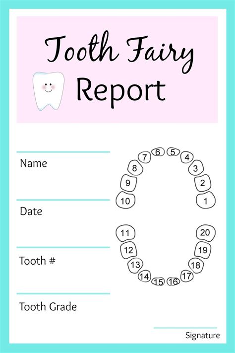 free printable tooth letter template tooth ideas resume simple templates