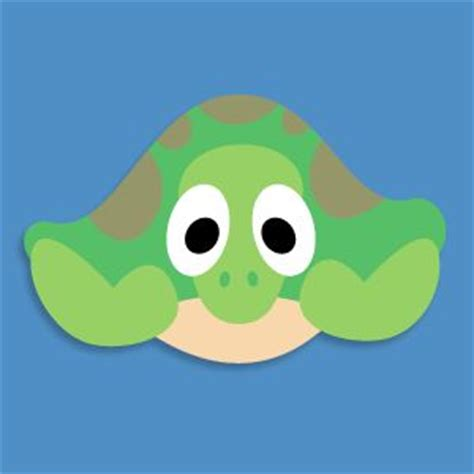 turtle mask template turtles masks and mask template on
